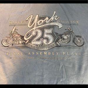 HD final assembly plant t-shirt.
